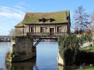 Alte Mühle in Vernon