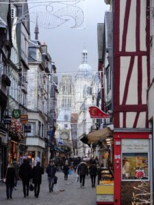 Fußgängerzone in Rouen