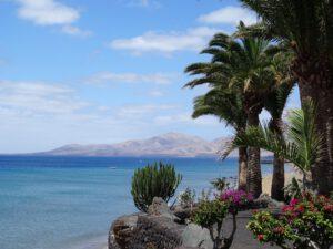 Promenade und Strand in Puerto del Carmen