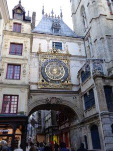 Uhrenturm in Rouen
